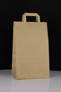 Ekologiczna torba papierowa do nadruku - beż
