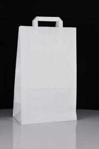 Ekologiczna torba papierowa do nadruku - biała