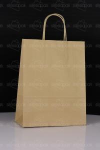 C5 torba papierowa brązowa uchwyt skręcany
