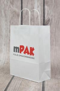 torebka papierowa z logo
