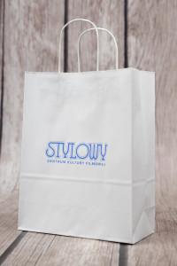 torba papierowa z logo