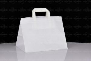 torba papierowa biała