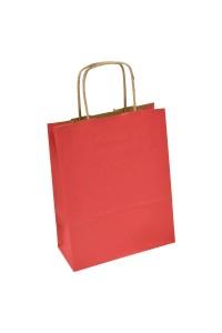 torba papierowa czerwona