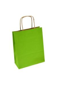 torba papierowa jasno - zielona