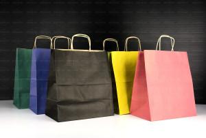 Kolorowe torby ekologiczne do nadruku